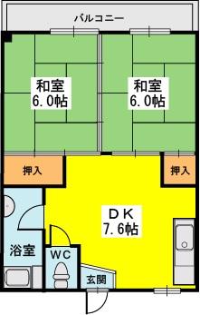 永松ビル / 202号室間取り