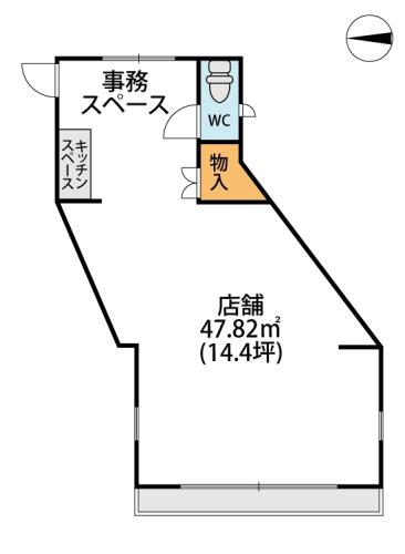 クオーレ プーロ / 店舗号室間取り