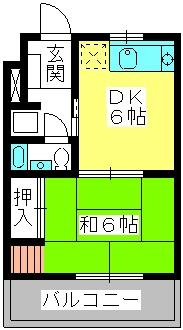 エクセレント12 / 303号室間取り