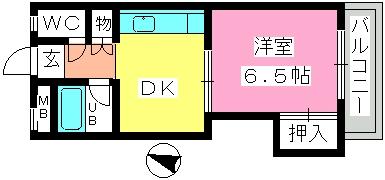 斉藤ハイム / 201号室間取り