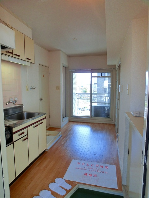 フローレスマンション / 302号室キッチン