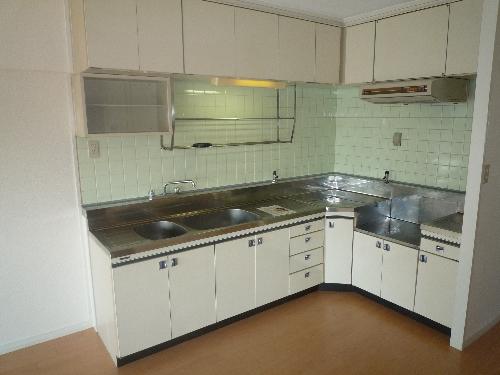 エクセレント36 / 503号室キッチン
