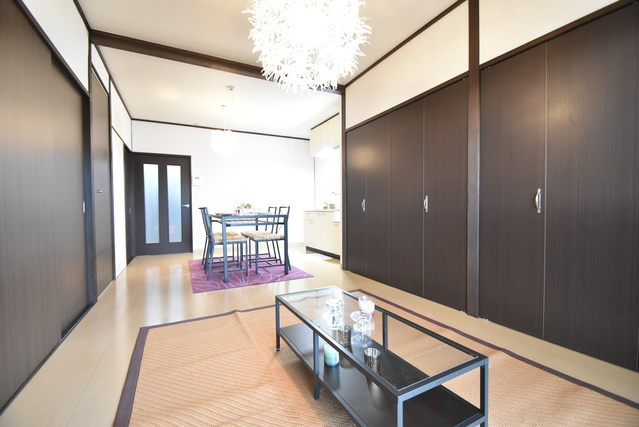 松岡コーポ / 602号室リビング