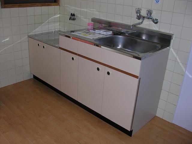 大賀レジデンス / 105号室キッチン