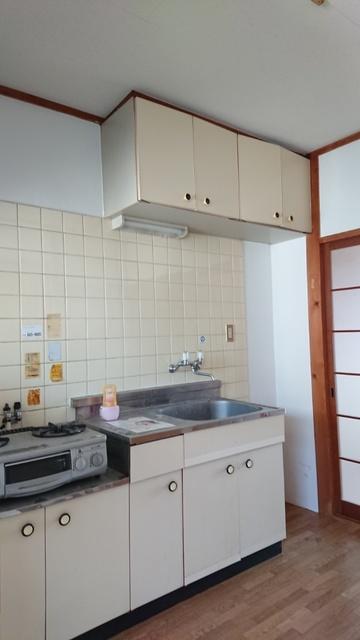大賀レジデンス / 203号室キッチン