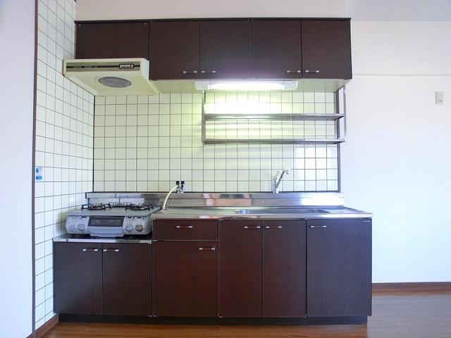 井尻第3ビル / 205号室キッチン