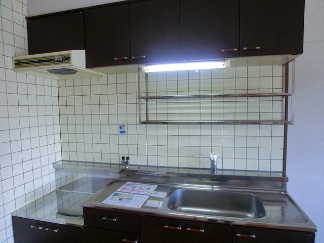 井尻第3ビル / 603号室キッチン