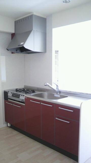 グランドゥール清水 / 303号室キッチン