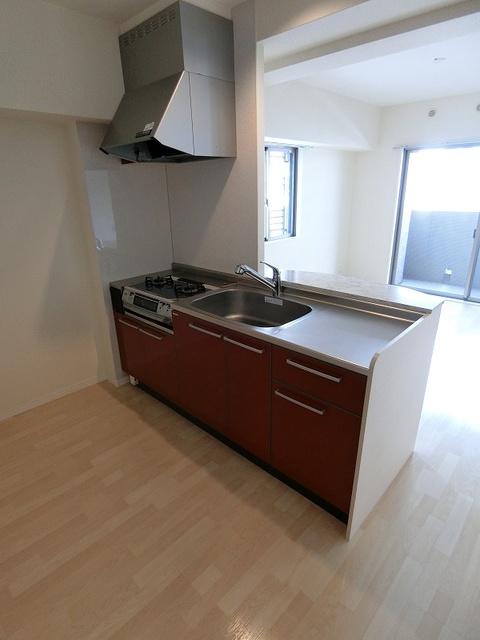 グランドゥール清水 / 402号室キッチン