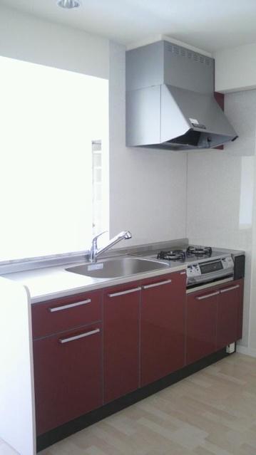 グランドゥール清水 / 502号室キッチン