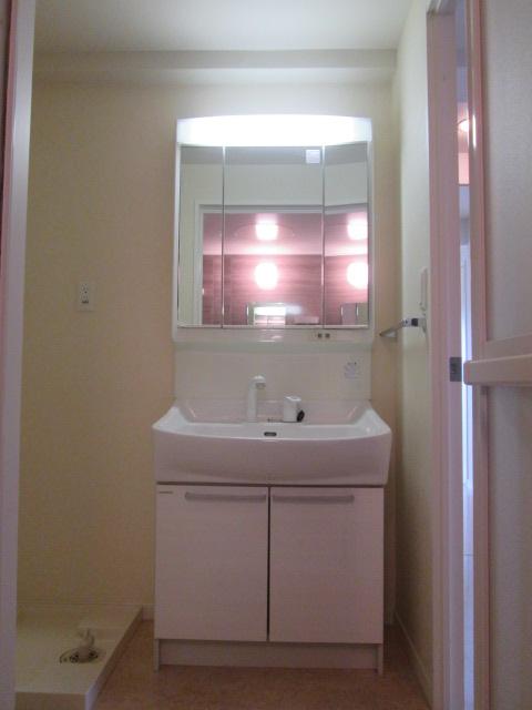 ソルモンテはかた / 406号室洗面所