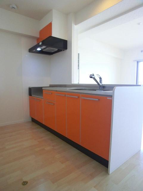 ソルモンテはかた / 802号室キッチン