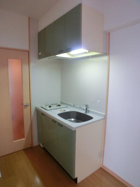 サンパティーク高宮 / 201号室キッチン