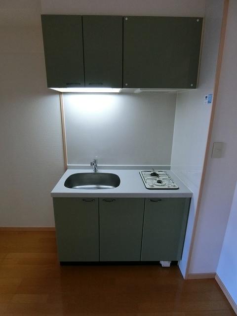 サンパティーク高宮 / 203号室キッチン