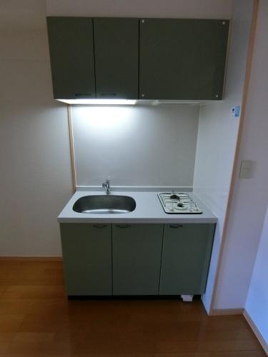 サンパティーク高宮 / 602号室キッチン