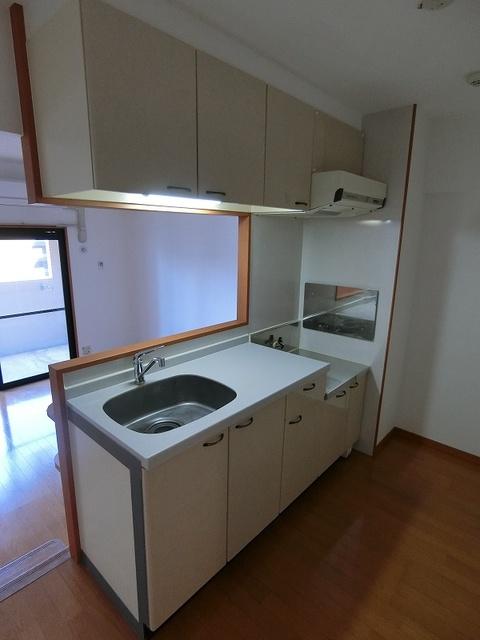 サンパティーク高宮 / 705号室キッチン