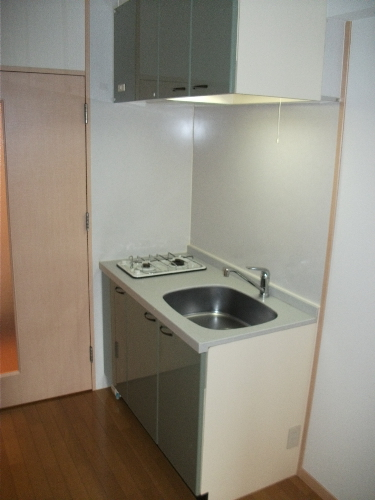 サンパティーク高宮 / 1102号室キッチン