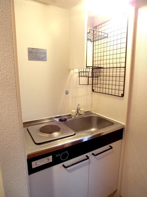 サンコート野多目 / 201号室キッチン