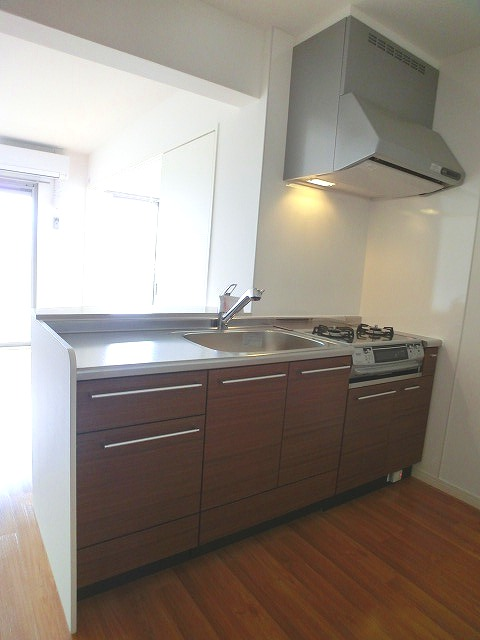 フィオーレ大橋 / 401号室キッチン