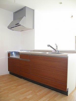 パーク ストリーム / 202号室キッチン