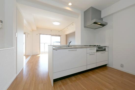 サントラップ / 201号室キッチン