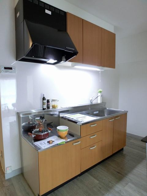 紙屋ビル / 101号室キッチン