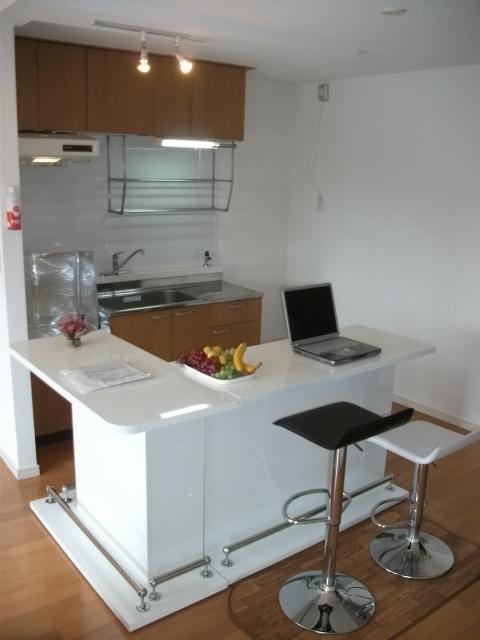 メゾーンハウス83 / 202号室キッチン
