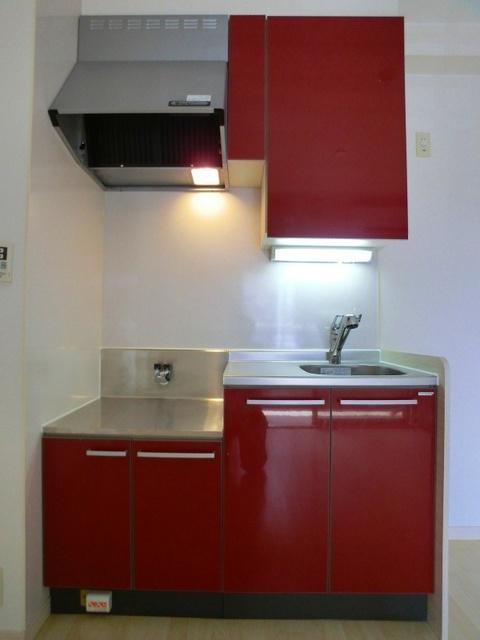 ラヴィ ヌーヴォ / 205号室キッチン