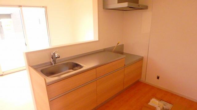 メゾングレイス / 201号室キッチン