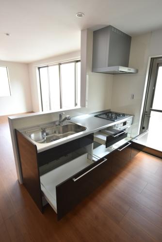 メゾングレイス / 204号室キッチン