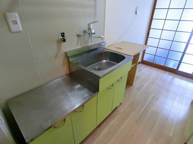 グリーンハウス大橋 / 203号室キッチン