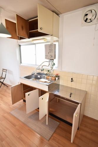 アラキハイム / 201号室キッチン