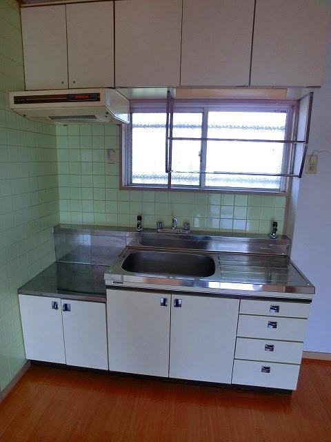 エクセレント12 / 203号室キッチン