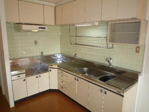 エクセレント36 / 605号室キッチン