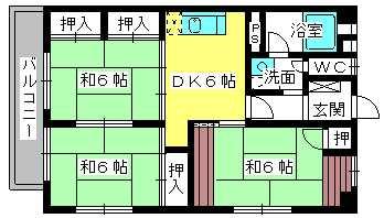 松岡コーポ / 102号室