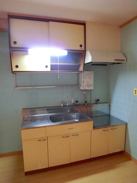 松岡コーポ / 103号室キッチン