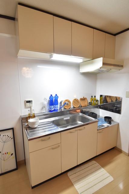 松岡コーポ / 602号室キッチン