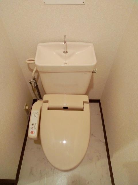 マンハイム板付 / 405号室トイレ