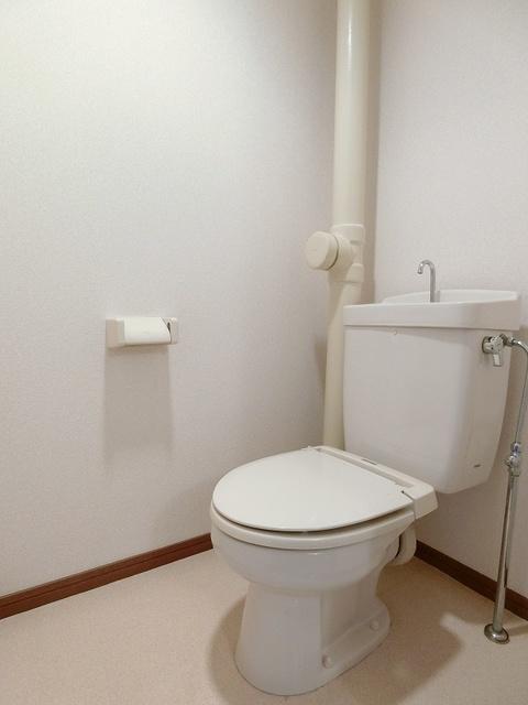ジュネス井尻駅前 / 406号室トイレ