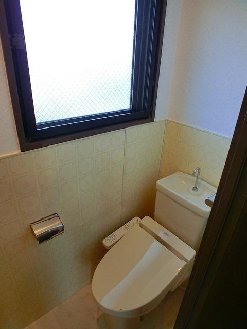 池の上ハイツ / 303号室トイレ