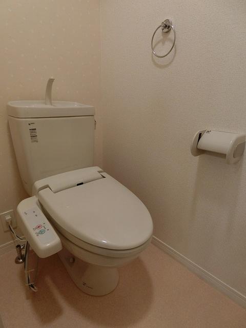 グランドゥール清水 / 603号室トイレ