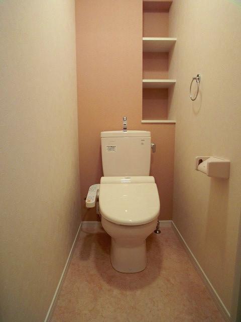 ソルモンテはかた / 502号室トイレ