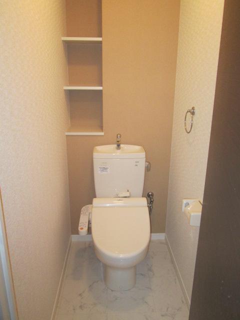 ソルモンテはかた / 803号室トイレ