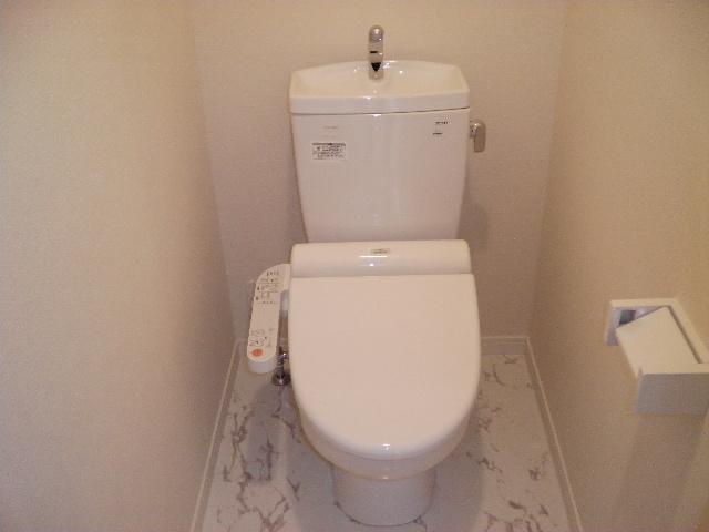 フローレス竹下Ⅲ / 201号室トイレ