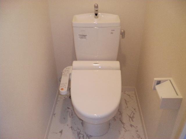 フローレス竹下Ⅲ / 202号室トイレ