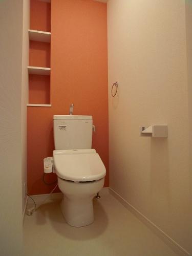 フローレス大橋 / 401号室トイレ