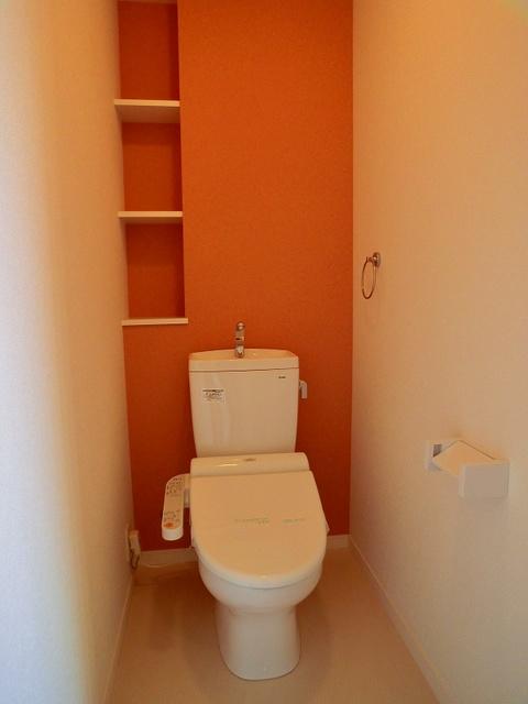 フローレス大橋 / 601号室トイレ