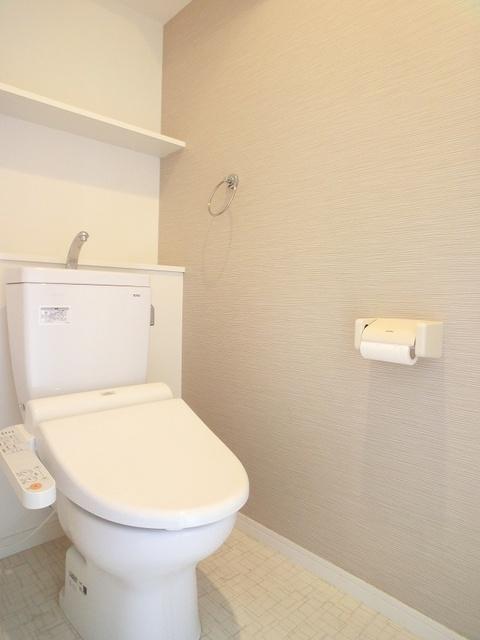 エクセル半道橋 / 603号室トイレ