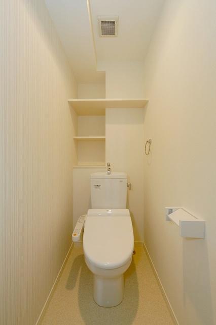 ボヌール レーベン / 402号室トイレ