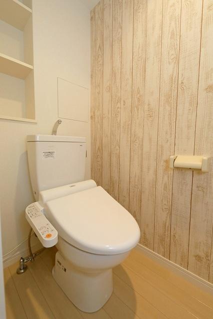 ステラ大橋 / 201号室トイレ
